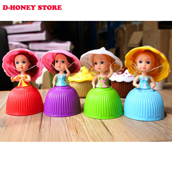 Mini Cartoon Lovely Cupcake Princess Doll Transformed Scented Beautiful Cute Cake Doll Toy Girls Toys for Children