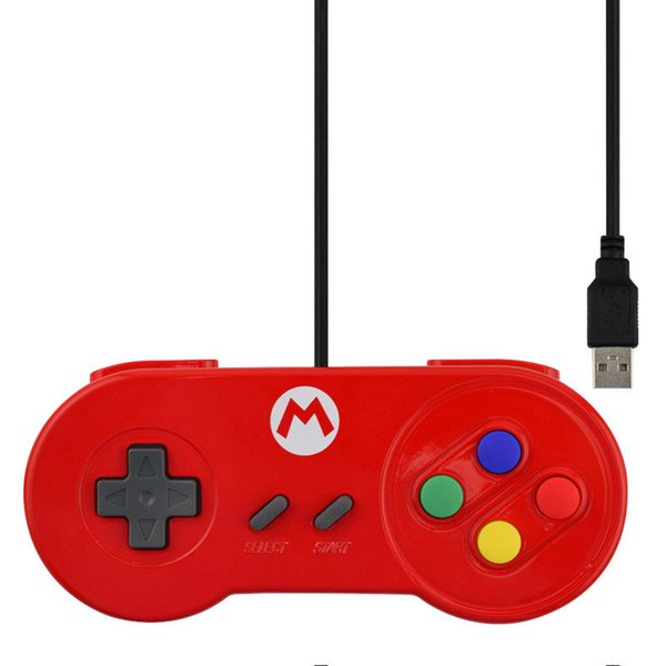 Retro Classic USB Game Controller Gamepad Joystick Joypad For Windows PC Mac Linux Raspberry Pi, not for SNES High Quality FAST SHIP