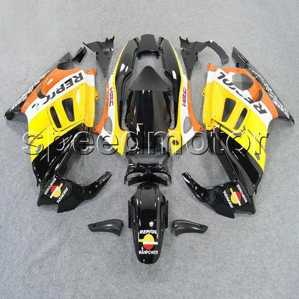 23colors+Gifts repsol yellow CBR600 F3 95 96 motorcycle cowl Fairing for HONDA CBR 600F3 1995 1996 ABS plastic kit