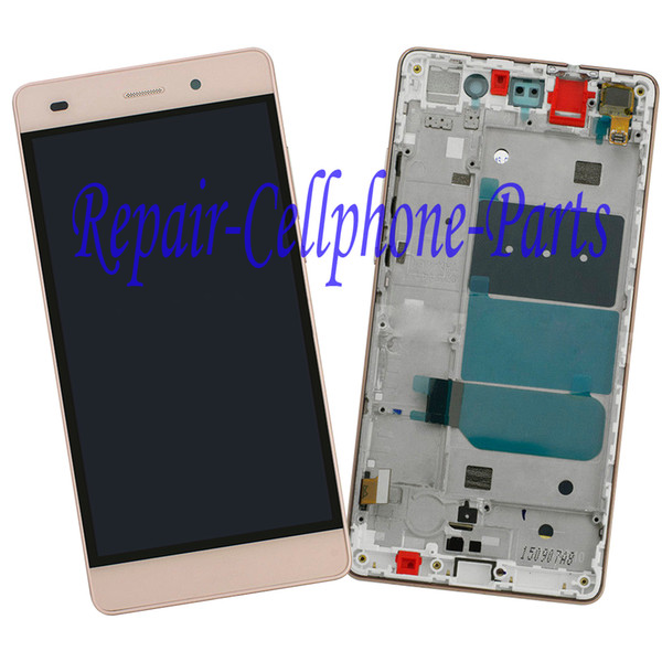 Gold 100% New Full LCD DIsplay+Touch Screen Digitizer+Frame Cover Assembly For Huawei P8 Lite ALE-L04 L21 TL00 L23 CL00 L02 UL00