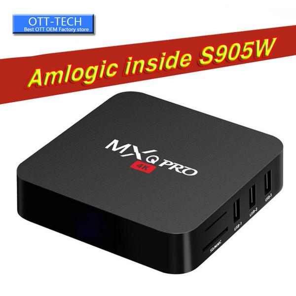 MXQ PRO S905W Android 7.1 Quad core 4K 1G+8GB DDR4 TV BOX Media WIFI MINI KD18