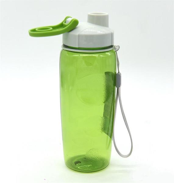 Bicchieri sportivi in plastica per il design sportivo Uomini e donne all'aperto con portamatite portatile a forma di catena Bicchieri per acqua multi colore a prova di perdite Nuovo 5 7bz ZZ
