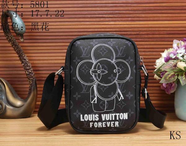 2018 Famous Brand Leather Men Bag Briefcase Casual Business Leather Mens Messenger Bag Vintage Men's Crossbody Bag bolsas male wallets 06