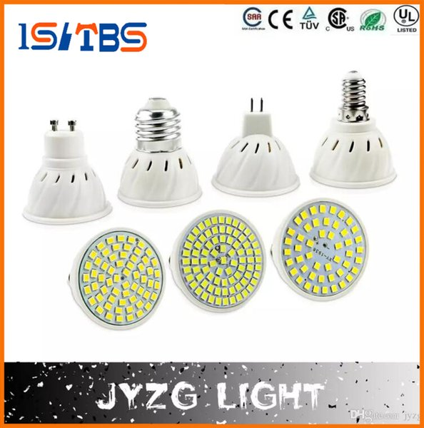 E27 E14 MR16 GU10 Lampada LED Birne 220V Bombillas LED Lampe Scheinwerfer 48 60 80 LED 2835SMD Lampara Spot Licht