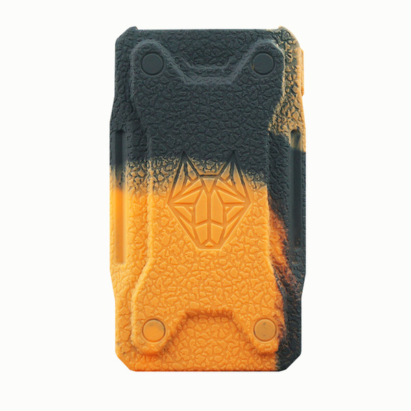 Silicone Cases Rubber Sleeve Protective Cover Skin Enclosure for Sigelei Snowwolf XFeng 230W TC Box Mod Snow Wolf 230 Vape Pen 13Colors DHL