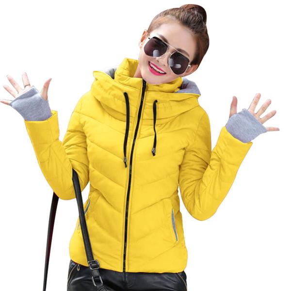 2018 New Parkas Female slim Women Winter Coat Thickening Cotton Winter Jacket Womens Outwear Parkas for Women Winter Down jacket