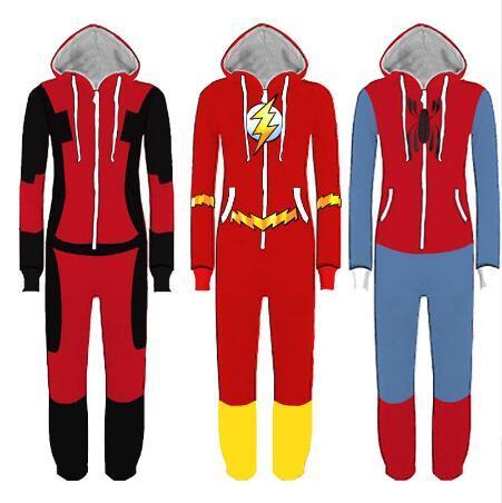 e61c0eadd Compre Superhero Traje Cosplay Homem Aranha Homecoming Pijama Homem ...