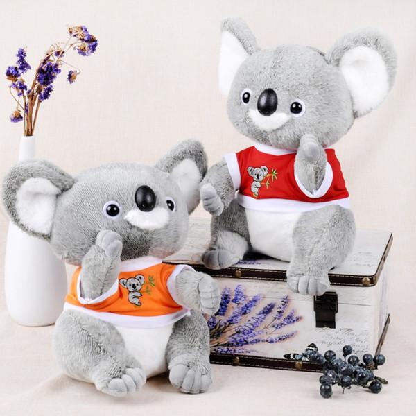 Hot Sales Cartoon Anime Koala Bear Plush Doll PP Cotton Soft Stuffed Animals Children Toy Lovely Kids Creative Gift Toys