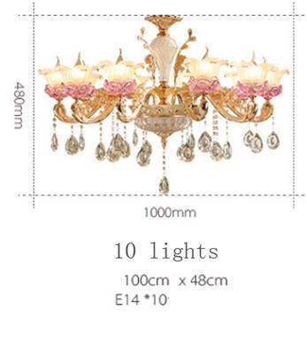 10 luzes