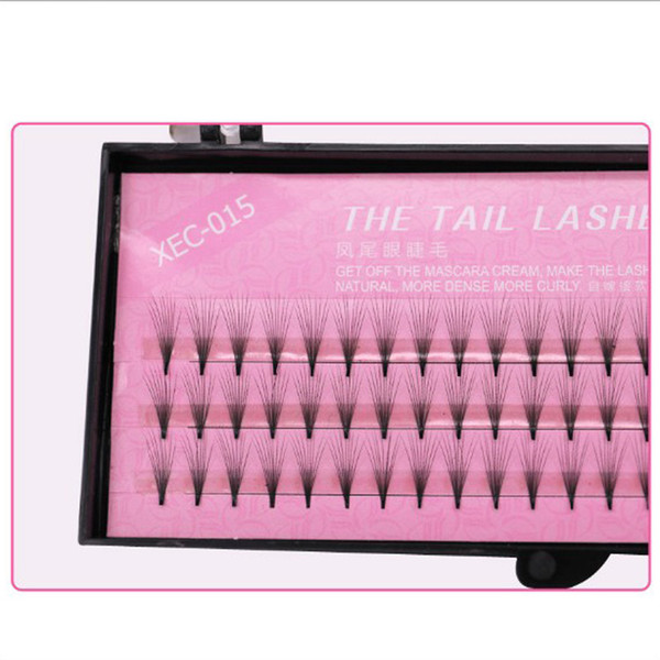 Individual Lashes C Curl 0.07mm 8-12mm 3D Lash Extensions Flares Eyelashes Knot-free in stock free shipping