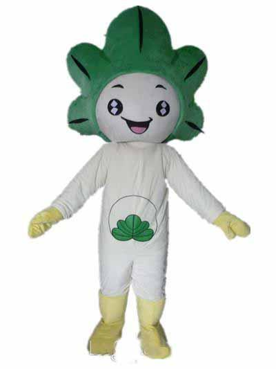 2018 High quality Light and easy to wear a plant mascot costume with white bodu for adult to wear