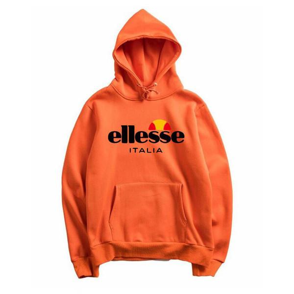 Ellesse marca dos homens designer de moda hoodie moda de alta qualidadewomen hip hop estilo sweatershirt com letras impressas roupas de manga longa 22 estilos
