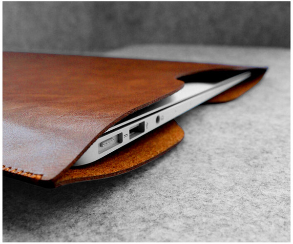 W451 Microfiber Leather 11 12 13 15 Inch Laptop Cases For Macbook Tablet Ultra Fiber Pouch Protect Bag Slim And Light Sleeve