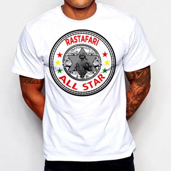 Rastafari Black History Selassie Reggae T-shirt Cotton Tee Africa new