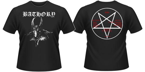Bathory 'Goat' T-Shirt (S, M, L, XL, XXL, XXXL) - NOUVEAUTÉ OFFICIEL! Drôle de livraison gratuite Unisexe Casual cadeau tshirt