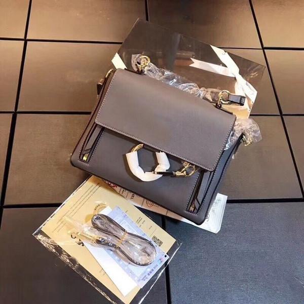 épaule Livraison gratuite nouveau sac femme d'arrivée bourse fourre-tout cru femme 28cm sacs crossbody sac à main de mode
