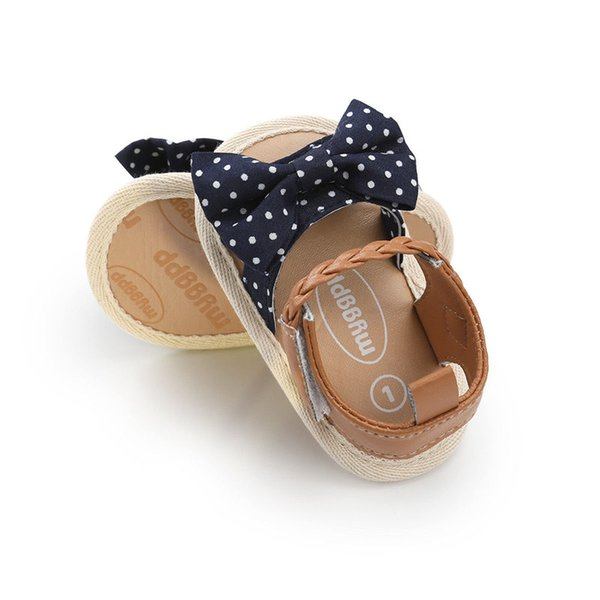 Summer Baby Girls Kids Toddler newborn Hollow Princess Geometry Bow Shoes casual Beach Sandals one pairs