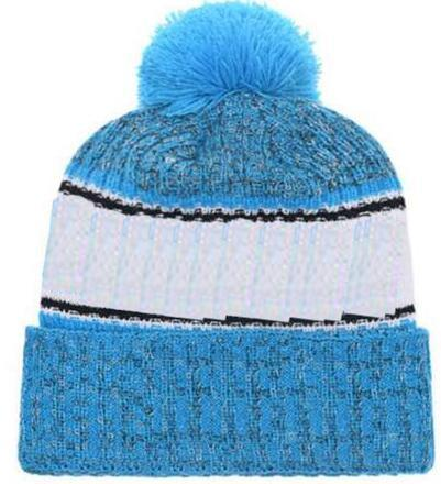 2019 Autumn Winter hat Sports Hats Custom Knitted Cap with Team Logo Sideline Cold Weather Knit hat Soft Warm Carolina Beanie Skull Cap