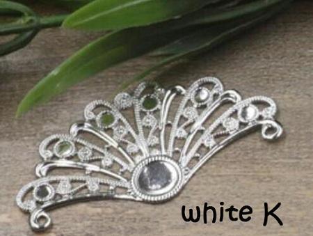 white K