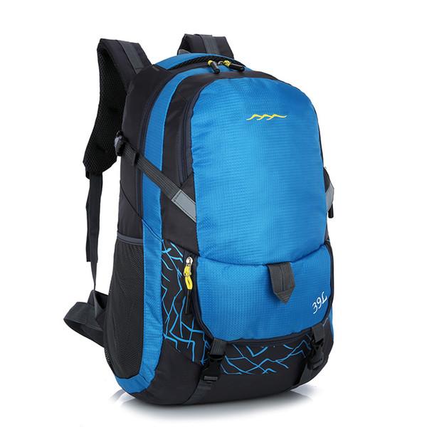 Silanda Sports Nice 39L Mountainteering Waterproof Hiking Backpacks Multi Functional Anti Tear Outdoor Traveling Cycling Climbing Bags