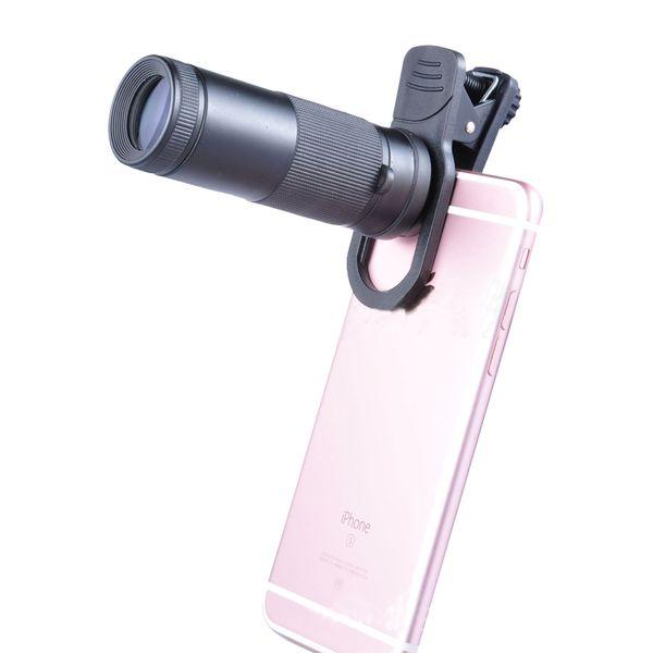 Girlwoman 8x 20 Wide Angle Telescope Full Screen Mobile Phone Telescope Lente Para Celular 8x Zoom Lens for Smartphone