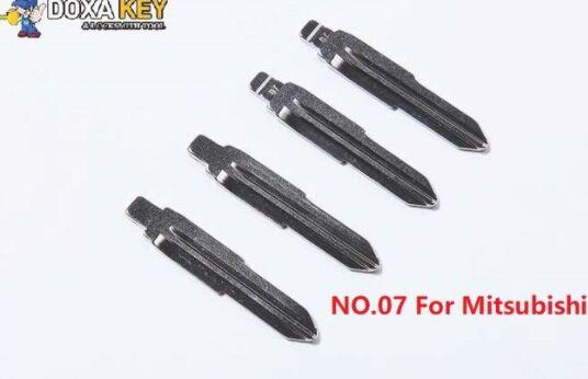 (5pcs) NO.07 Key Blade Replacement Flip Floding Blade Car key Blank For Mitsubishi Outlander