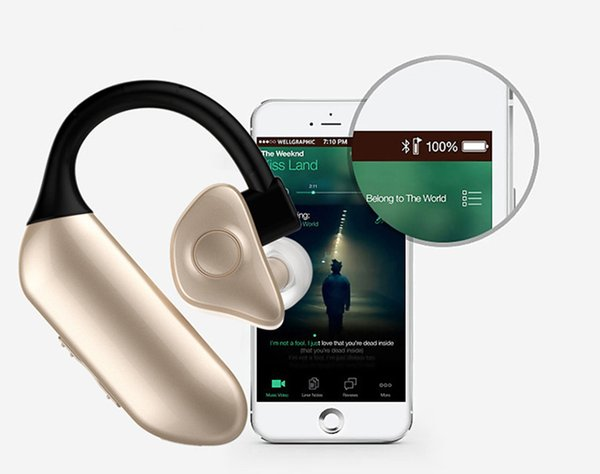 Bluetooth V4.0 Wireless Q8 Earphone In Ear Earbuds HIFI Earphones&Headphone With Mic For Phone/PC/Tablet/Smart Watch