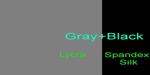 Серый + черный