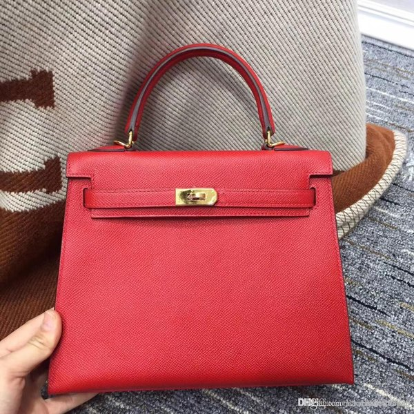 best quality classics like original K flag tote EPSOM genuine leather with women Shoulder and handbag bagstote bag full handmade stiching