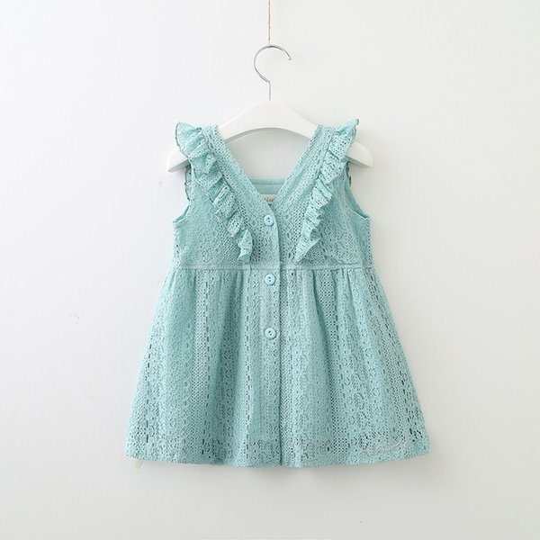Bear Leader Girls Dresses 2018 New Summer Brand Kids Princess Dress Cute Embroidery Bow Design for Girls 1-6Y Children Clothes