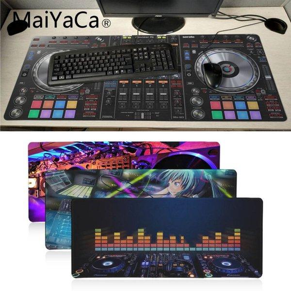 MaiYaCa Top Quality Pad Radio Console Art desk mat Durable Desktop Mousepad Soft Rubber Professional Gaming Mouse Pad Computer
