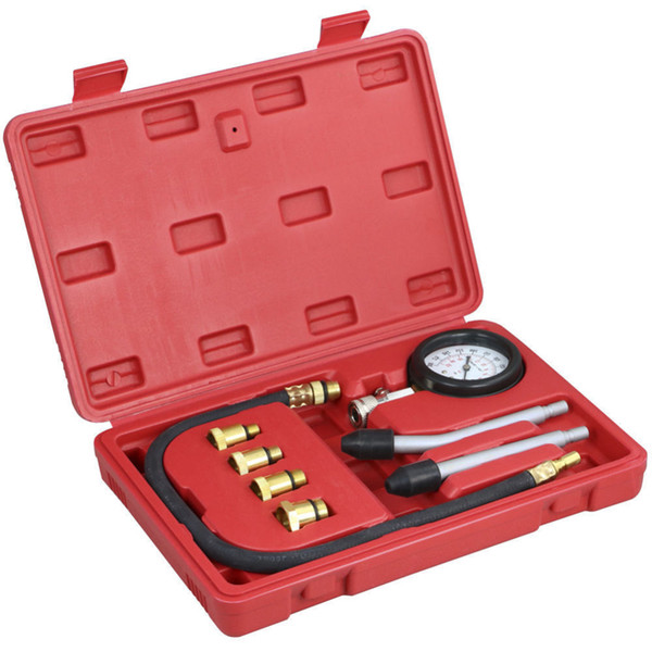 top popular Auto oil Pressure Sensor Petrol Gas Test Tool Car Engine Cylinder Compressor Meter Test Pressure Digital oil Pressure Gauge 2021