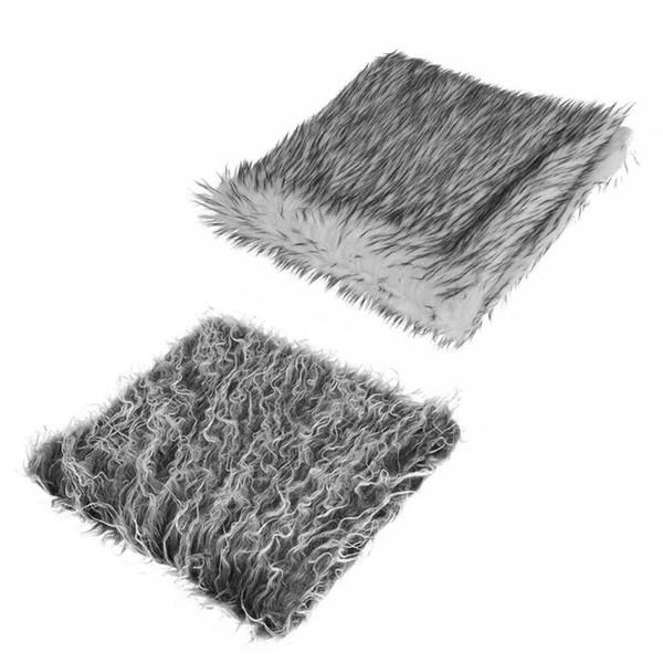 Newborn Baby Infant Fur Imitation Rug Blanket Photography Background Props Photo Background Props Basket Stuffer Filler