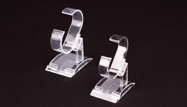 Bijoux en plastique transparent Support à bijoux Bracelet Montre Montre Support à pied Support à support Support à présentoir