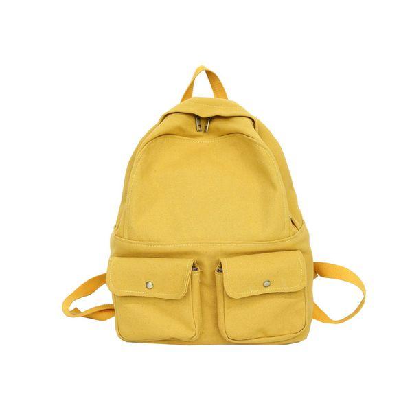 black canvas backpack small girls book bags for school bagpacks travel bags sac fille college rucksack women tas sekolah remaja