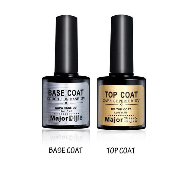 Top qualité Soak Off Gel Vernis À Ongles Pour Nail Art Gel Laque Led / uv Harmony Gelish Base Manteau Foundation Top coat Set