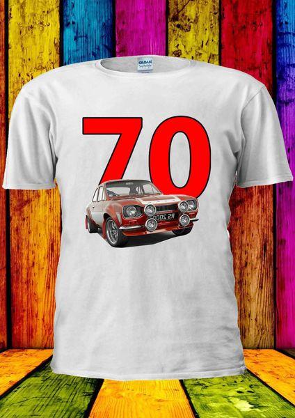 Mk1 Escort Mexico 70's Retro Vintage T-shirt Vest Tank Top Men Women Unisex 628 Funny free shipping Unisex Casual gift