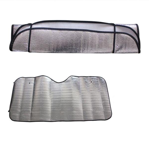 1pc occasionnel pliable universel voiture pare-brise visor couverture avant bloc arrière fenêtre pare-soleil