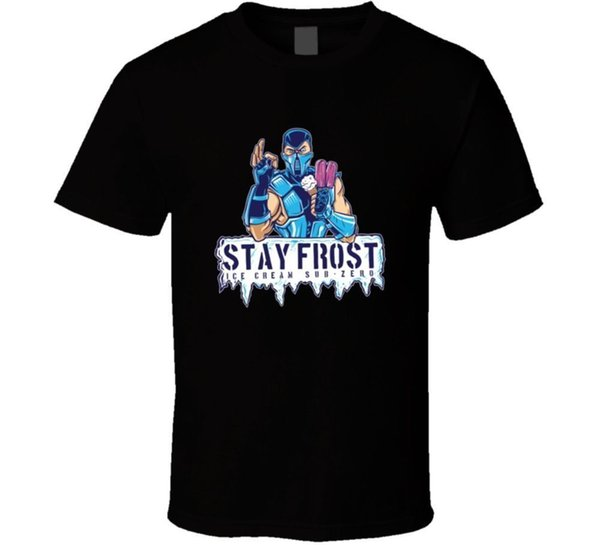 Streetfighter T-Shirt Aufenthalt Frost T-Shirt Casual Plus Size T-Shirts Hip Hop Stil Tops T-Shirt S-3Xl Kurzarm Mode Sommer Druck Casual