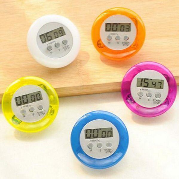 Mutfak LCD Dijital Zamanlayıcılar Geri Sayım Geri Standı Pişirme Zamanlayıcı Çalar Saat Mutfak Alet Pişirme Araçları LX3552