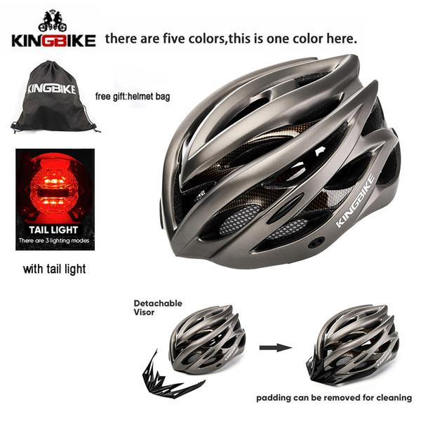 KINGBIKE 5colors helmet bike man woman bicycle helmets Integrally-molded capacete bike cascos para bicicleta cycling helmet 2018
