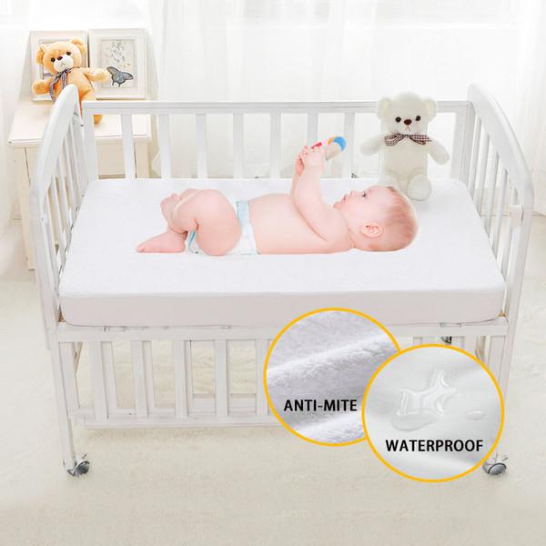 PROTECTION MATELAS étanche 120 x 60 cm Lit de bébé Respirable Terry bâche