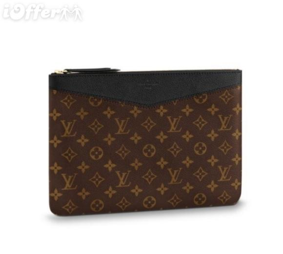 M62048 CUIR HOMME EMBRAYAGE PORTEFEUILLE SAC portefeuille sac à main Ceinture Sacs Mini Sacs Embrayages Exotiques