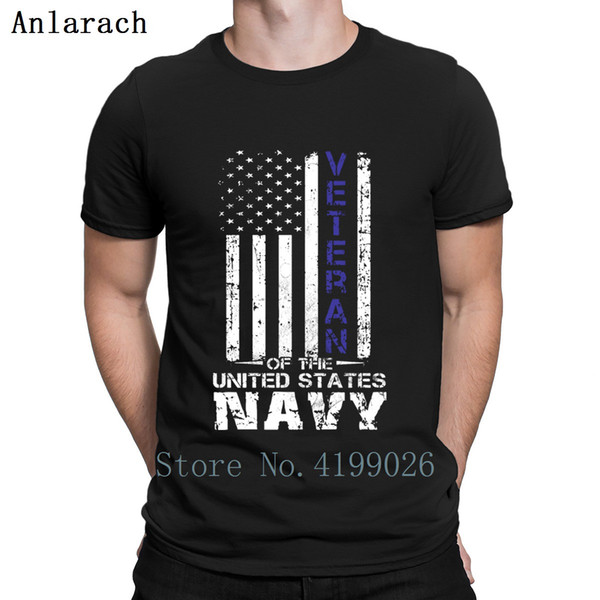 Veteran Of The United States Navy Tshirt New Fashion Personalized Tee Top Awesome Tshirt For Men Unique Cotton Simple Clothes