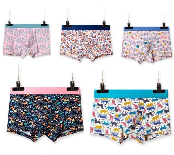 New Luxury Designer Sexy Mens Underwear Boxers For Man Unicorn Pink Underwear Cueca Boxer Ropa Interior Hombre Vintage Gay Boxer Shorts
