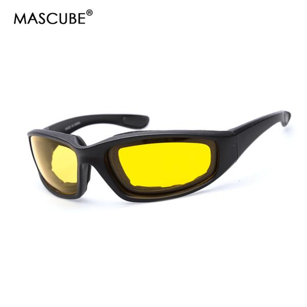 MASCUBE Мотоциклетный велосипед Защитные очки Ветрозащитный Вождение Ночного видения Велоспорт Очки Очки Спорт на открытом воздухе Очки
