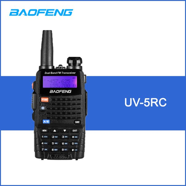BAOFENG UV-5RC Walkie Talkie Ricetrasmettitore digitale DMR Radio bidirezionale 128CH VHF / UHF Dual Band Ricetrasmettitore portatile Interphone