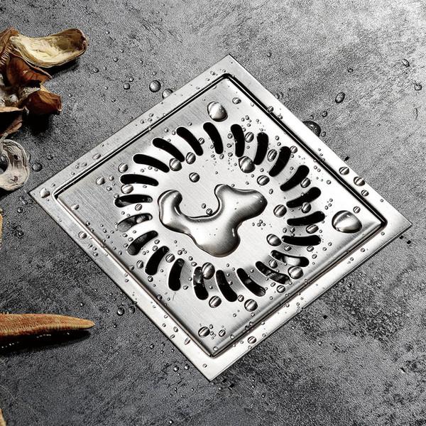 304 stainless steel floor drain invisible bathroom shower room floor drain