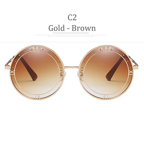 C2 Gradiente in oro marrone