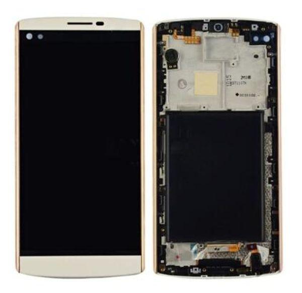 Completo LCD Touch Screen Digitizer Assembly con telaio di ricambio per LG V10 V20 K220 K4 2017 Ls777P